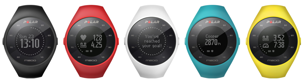 GearDiary Polar Announces the New M200 Running and Activity Tracking Watch