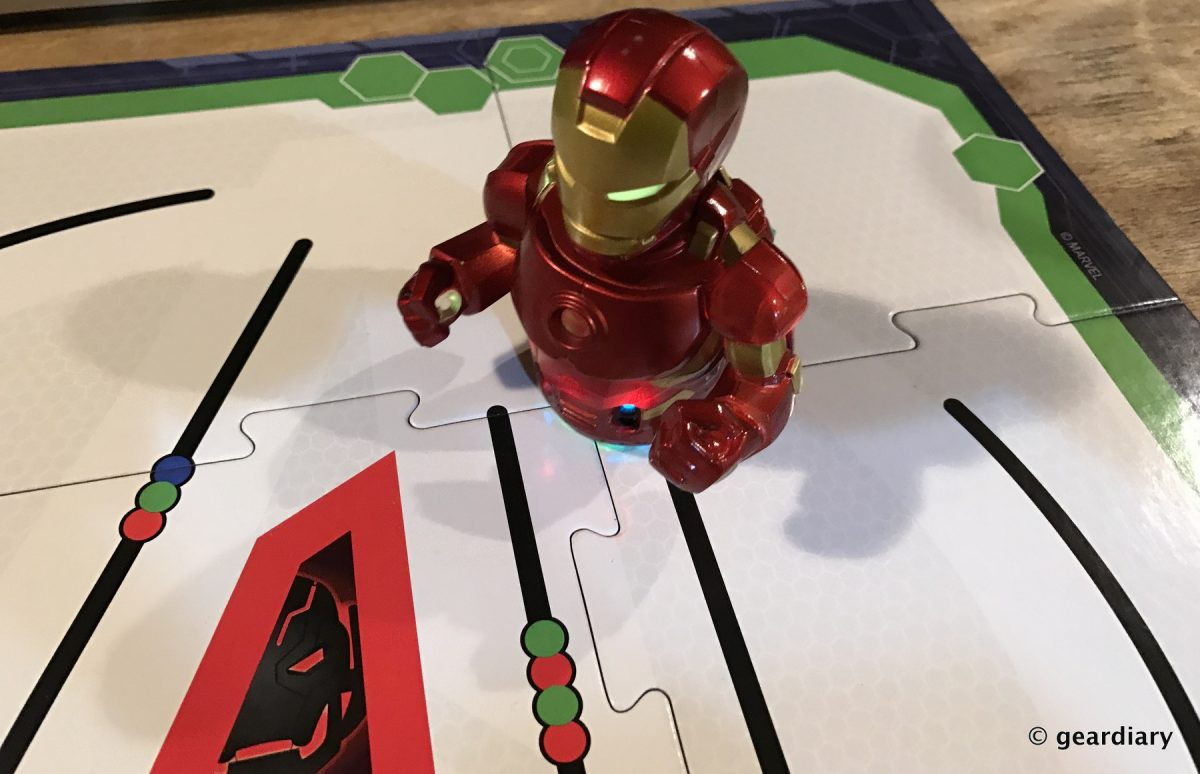 Ozobot Evo Marvel Avengers Iron Man Master Pack An Introduction To Mouse Game Wireless Geardiary Robotic Programming