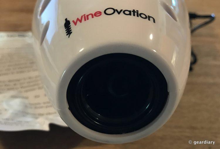 GearDiary WineOvation's Bowling Pin: A Fun and Useful Powered Wine Bottle Opener