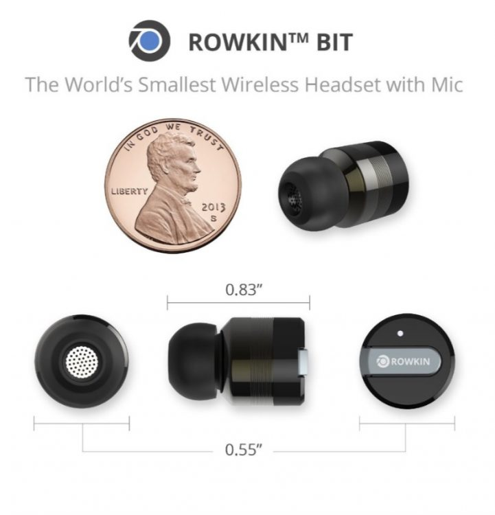 GearDiary Rowkin Bit Charge Stereo Bluetooth Earbuds with Portable Charger Are the iPhone 7 Accessory You Want