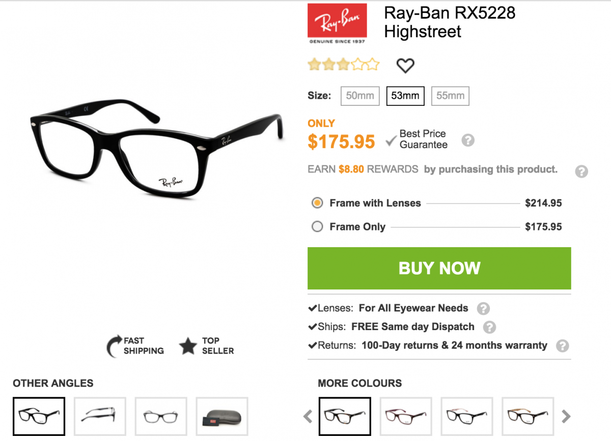 3361bbb56a GearDiary SmartBuyGlasses Is a Great Source for Less Expensive Name Brand  Prescription Eyeglasses