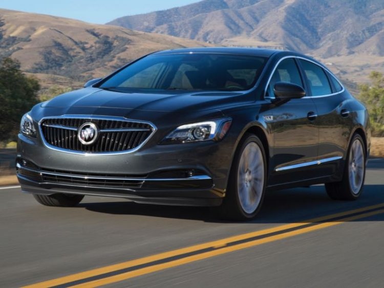 2017 Buick LaCrosse/Images courtesy Buick