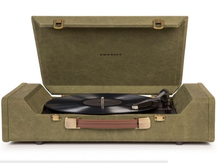 GearDiary The Crosley Nomad Turntable: A Great Gift Idea for the Vinyl Lover
