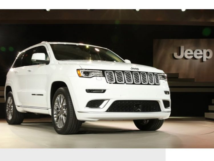 2017 Jeep Grand Cherokee/Images courtesy Jeep