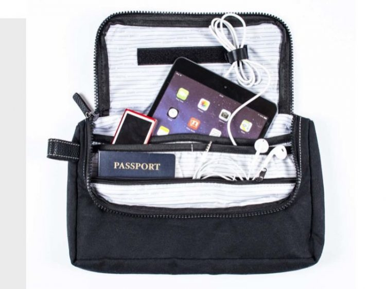 GearDiary Travel Media Pouch from Great Useful Stuff Is Your Upgrade to First Class