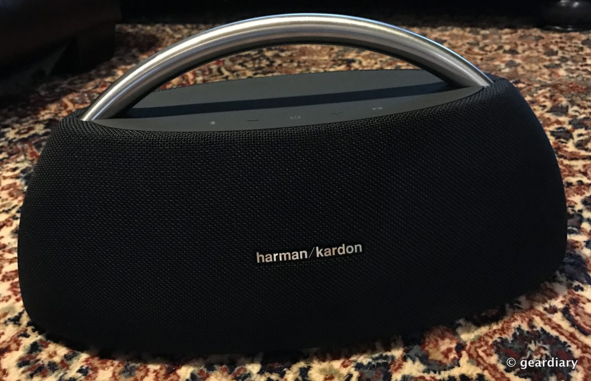 The Harman Kardon Go+Play Portable Bluetooth Speaker Review: It's