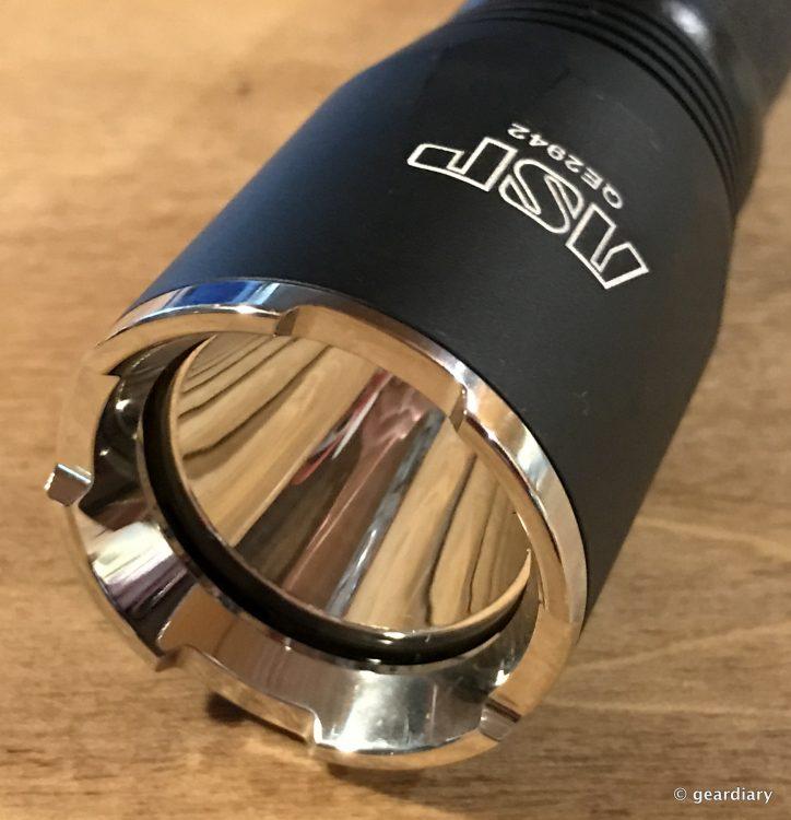 ASP Turbo CR 920 Lumens LED Flashlight Review
