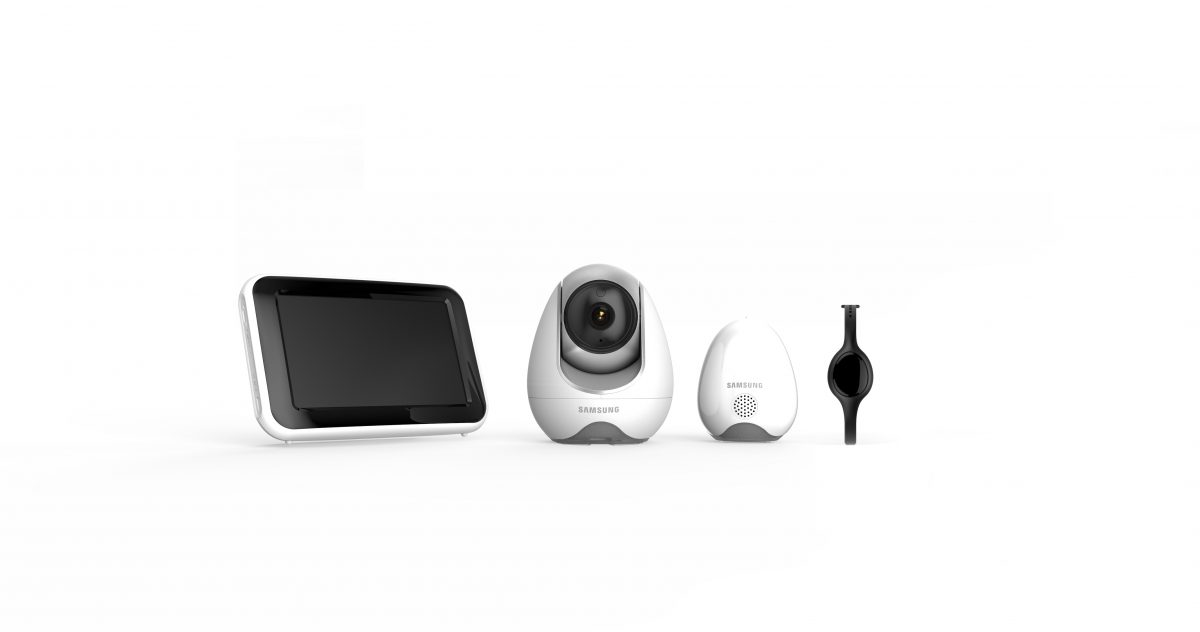 GearDiary Samsung's New Security Cameras Monitor Your Home and Baby