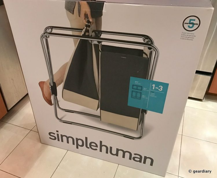 GearDiary You Get What You Pay for with This Simplehuman Laundry Hamper