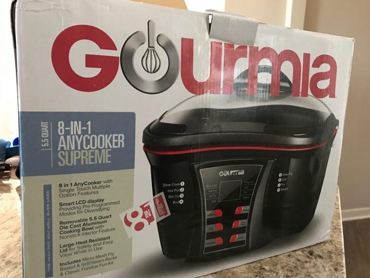 Gourmia Multi-Function Cooker Eliminates Kitchen Clutter