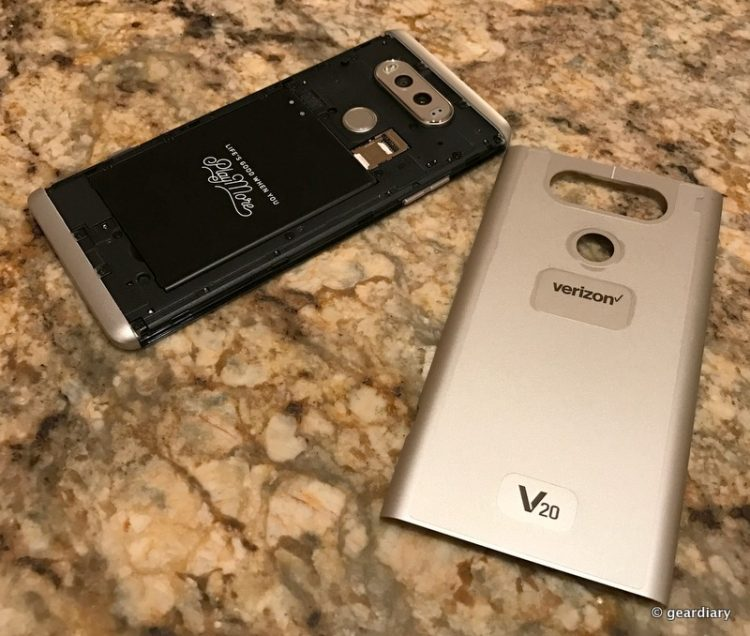GearDiary An iPhone 7 User's Experience with the LG V20 Smartphone