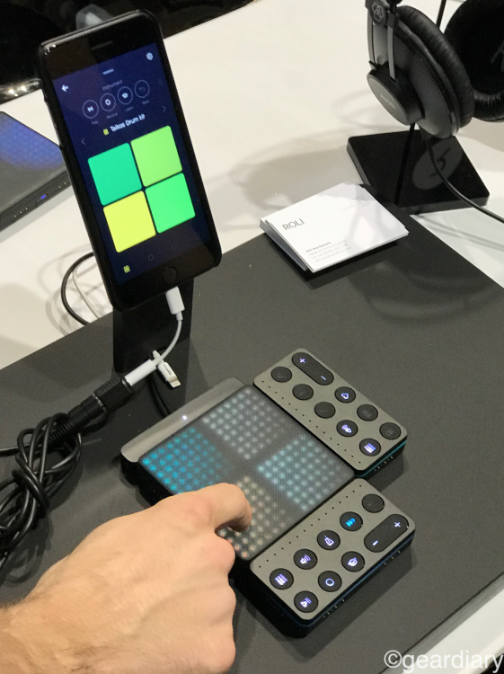 GearDiary Create Your Own Music with Blocks by Roli