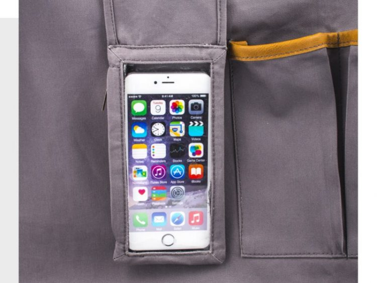 GearDiary Techie Apron from Great Useful Stuff Is a Gift You Will Want to Buy for Yourself
