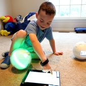 GearDiary Leka Robot Engages Developmentally Challenged Children
