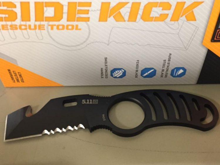 GearDiary Side Kick Rescue Tool From 5.11 Tactical a Great Everyday Utility Knife