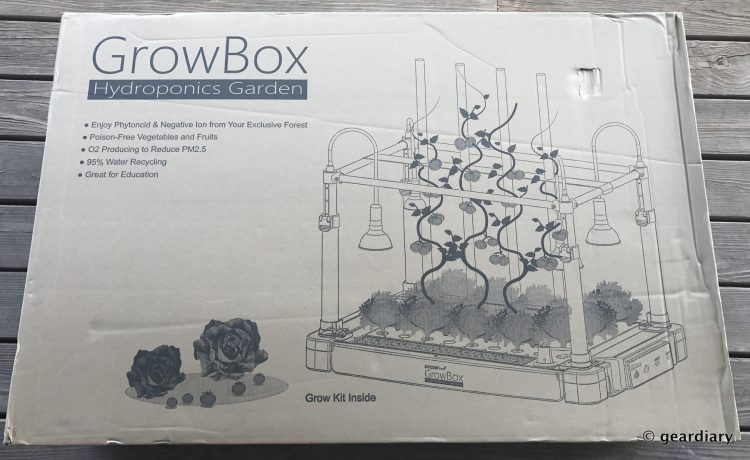 OPCOM Farm GrowBox Indoor Hydroponic Gardening System: The Setup