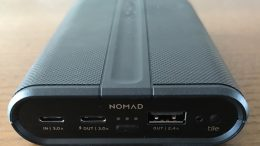GearDiary The Nomad 9000mAh PowerPack External Battery Is Ready for the Future