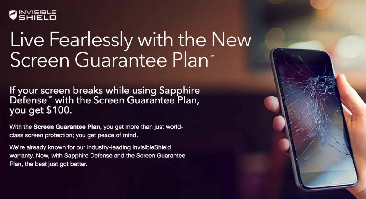 GearDiary Get Mobile Confidence with the ZAGG InvisibleShield Screen Guarantee Plan