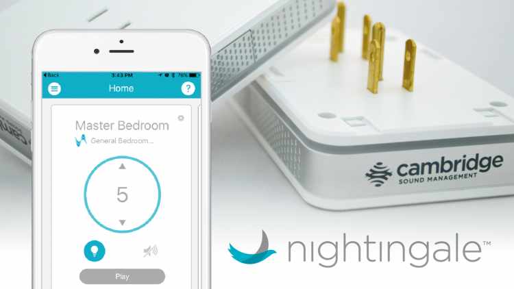 GearDiary Fall Asleep Comfortably with White Noise by Using Nightingale