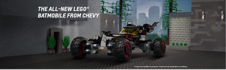 Chevy Teams Up with Lego Batman!