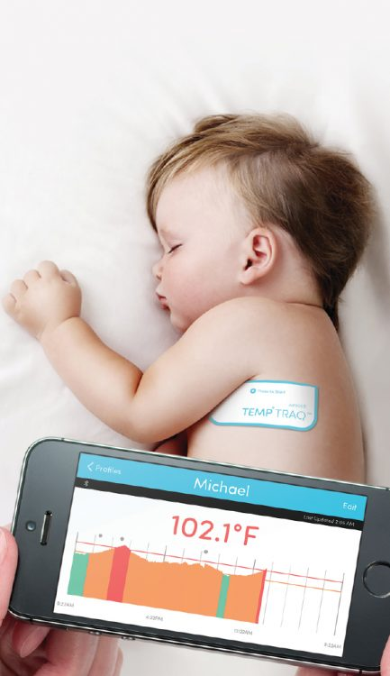 TempTraq Monitors Your Child's Temperature