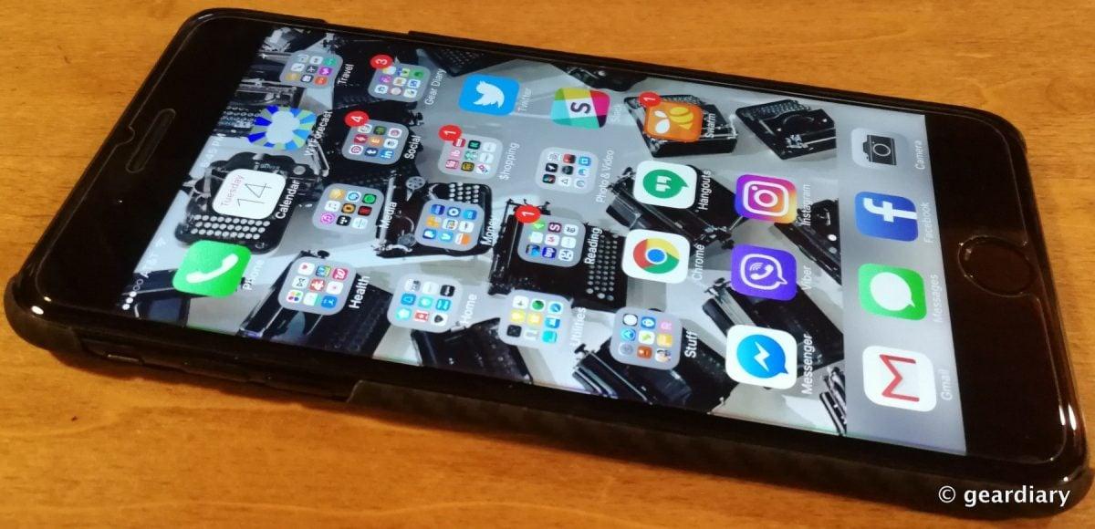 new arrival 0778d b1831 PITAKA Aramid Fiber iPhone 7 Case: Beautiful, Bulletproof Protection