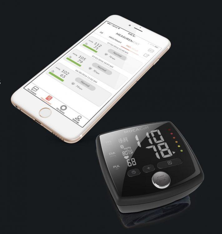 MOCAcuff Wrist Monitor Makes Blood Pressure Checks Simple
