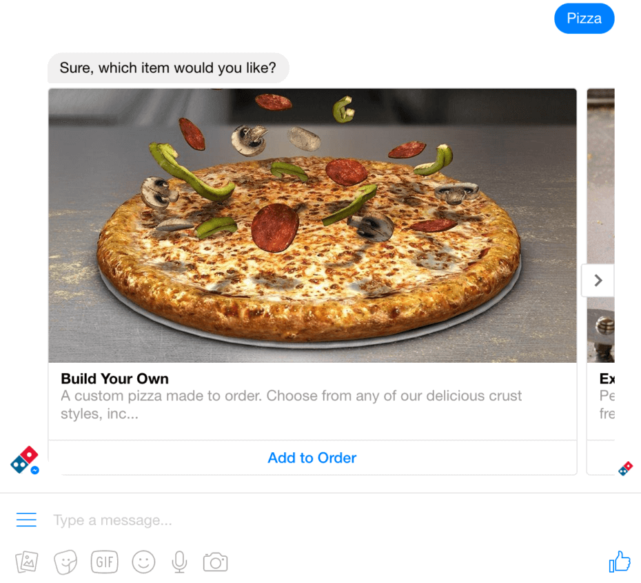 Order Dominos Through Facebook Ahead of the Super Bowl This Sunday