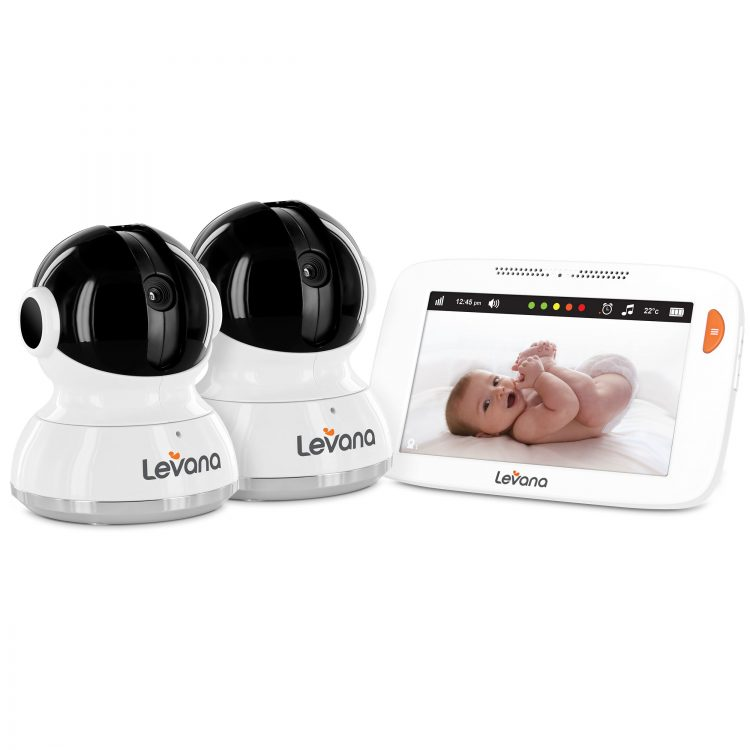 """GearDiary Levana's Willow 5"""" Touchscreen Baby Monitor is the Cream of the Crop"""