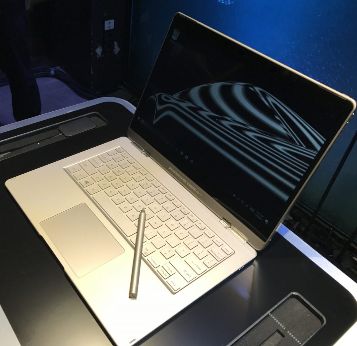 porsche design elevates the surface book design to a new level. Black Bedroom Furniture Sets. Home Design Ideas