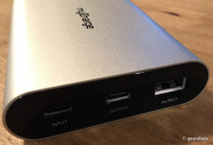 MyCharge RazorPlatinum Portable Charger for MacBook Review