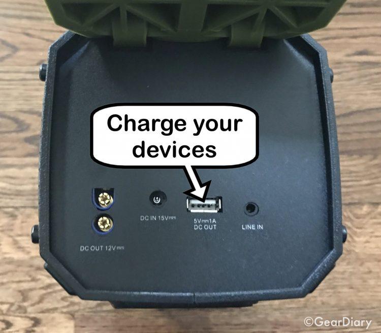 GearDiary Dreamwave Survivor Speaker and Emergency Car Battery Starter Is a Powerhouse