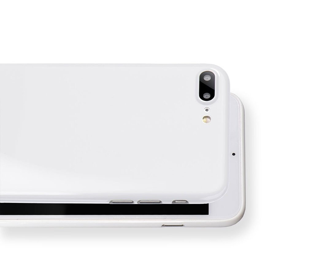 GearDiary A Jet White iPhone 7 Plus is Totallee Possible with This Case