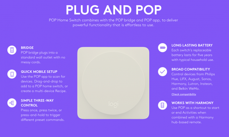 Logitech POP Is a Simple Way to Make Your Smart Home Smarter