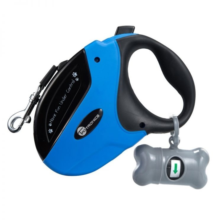 GearDiary Give Your Puppy Some Extra Lead with the TaoTronic Retractable Dog Leash