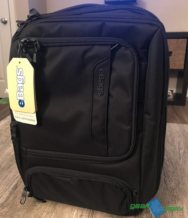 GearDiary eBags Professional Slim Junior Laptop Backpack Is Great for Commuters