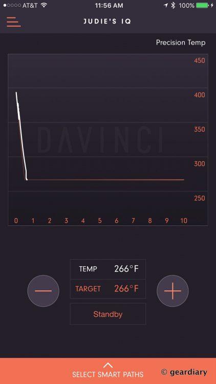 GearDiary 1-DaVinci IQ Precision Vaporizer set for eucalyptus