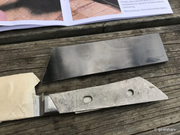 GearDiary 4-Putting together the Man Crates Damascus Chefs Knife-003
