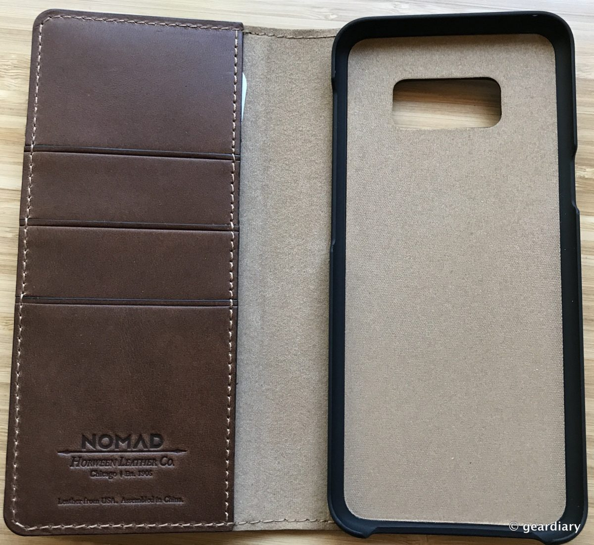 outlet store 58fa7 0df06 5-Nomad Leather Folio Case for Samsung Galaxy S8+-004 – GearDiary