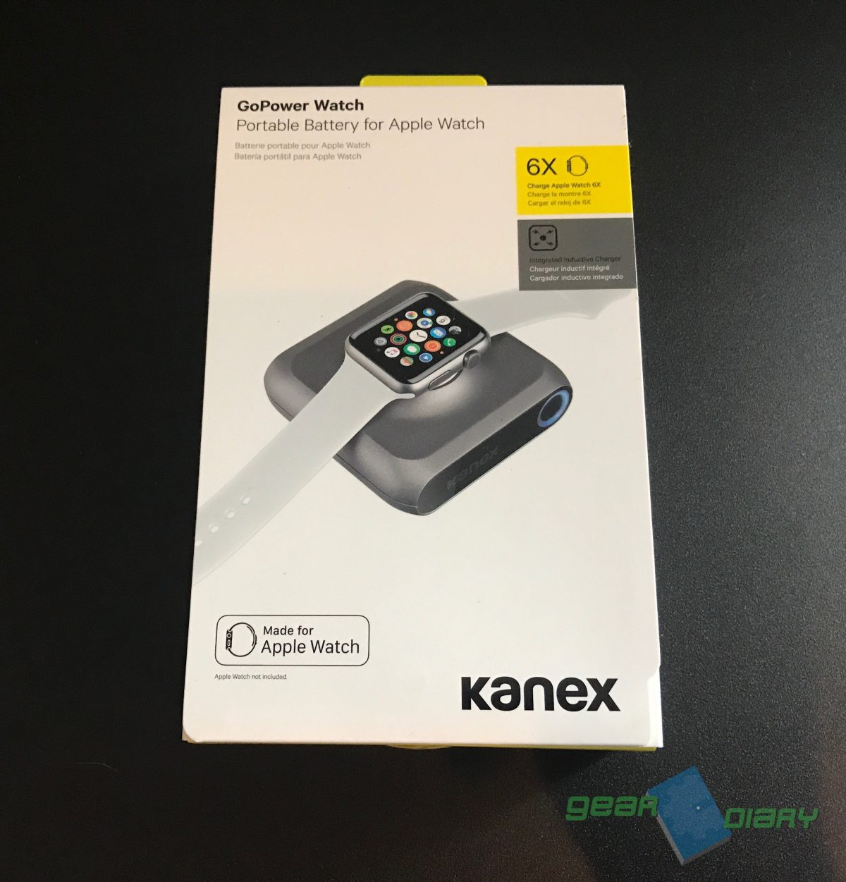 online store d3931 fb1c9 Kanex GoPower Watch Battery Pack Is the Ultimate Apple Watch Accessory