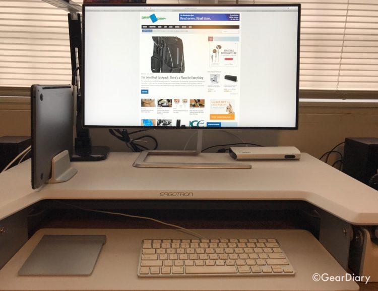 "GearDiary Thanks to the AOC Q2781PQ 27"" Quad HD Ultra Slim Frameless IPS Monitor, I Have a Superb Desktop Computer Again"