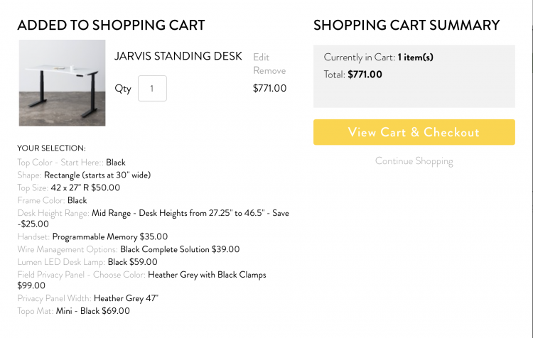 Fully's Jarvis Standing Desk Is the Best Setup for Your Home