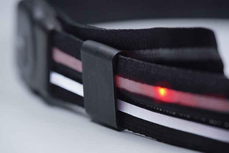 GearDiary Runners and Bikers Defy Darkness with the LumaGlo Crossbelt, Now on Kickstarter