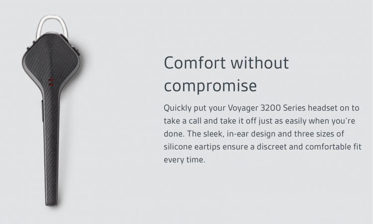Get Handsfree Calling for Under $100 with the Plantronics Voyager 3200 Series Headset