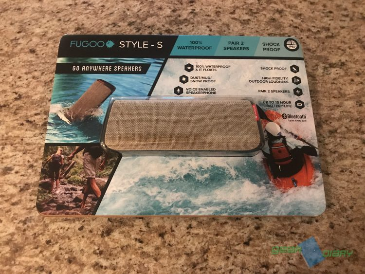 GearDiary FUGOO Style-S Bluetooth Speaker Is My Go-To Speaker for the Pool