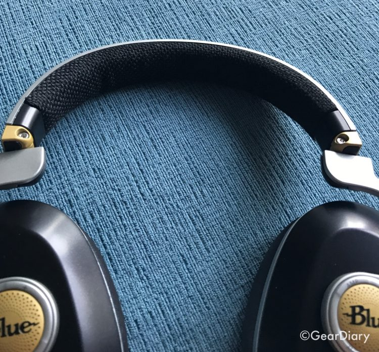 Blue Satellite Wireless Headphones with ANC Are out of This World