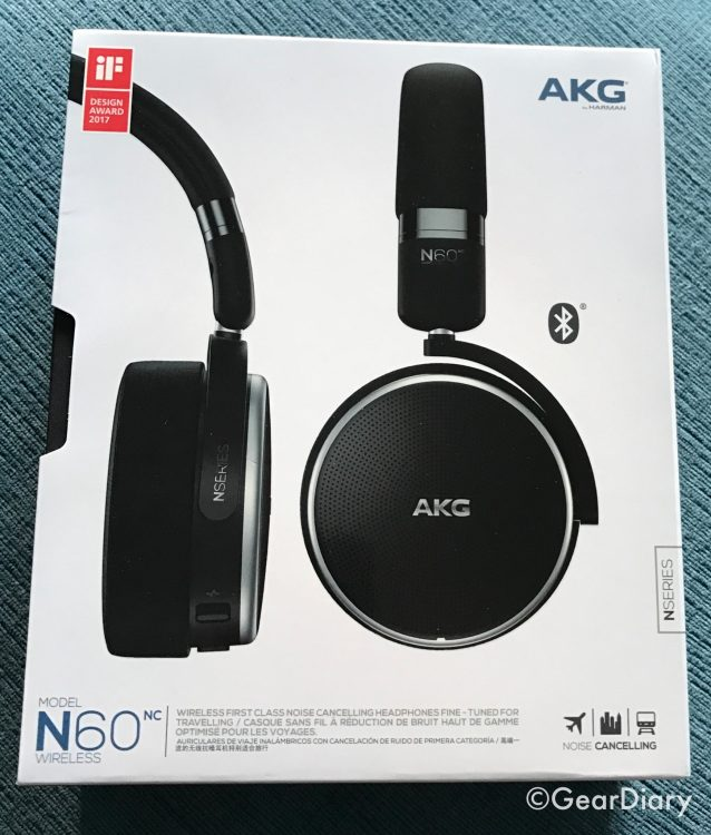 AKG N60NC Wireless Cut the Cord but Not the Corners