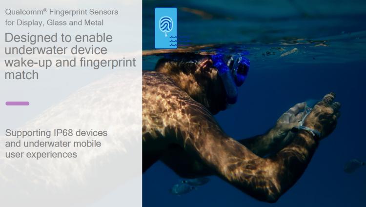 GearDiary Qualcomm Is Going to Make Fingerprint Technology Better — Even Underwater!