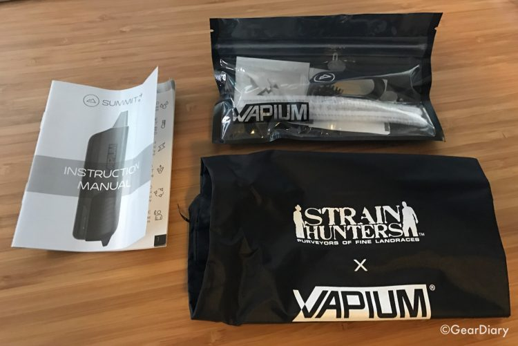 Vapium Strain Hunters Edition Vape: A Special Edition Summit+ Vaporizer