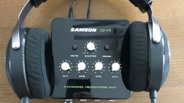 GearDiary Samson QH4 4-Channel Headphone Amplifier Review